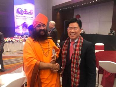 Sadguru Bhau Maharaj ji at Asia-Pacific Summit 2018, Nepal