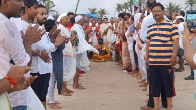 Narali Purnima Utsav on 26 Aug 2018 at Colva beach
