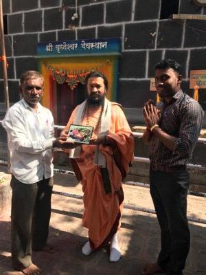 Visit to samadhi place of Shree Kanifnath Maharaj ji