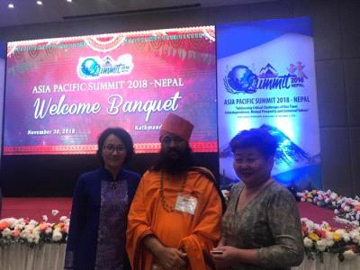 Asia Pacific Peace Summit 2018 Nepal.