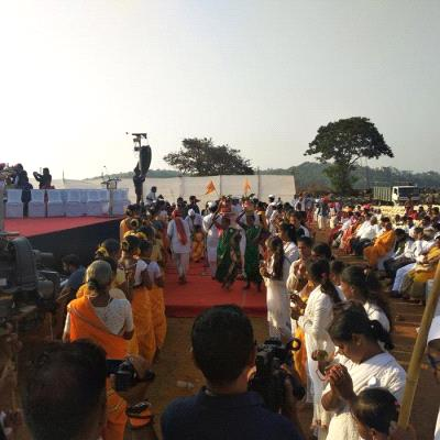 Couple blessing ceremony and youth guidance